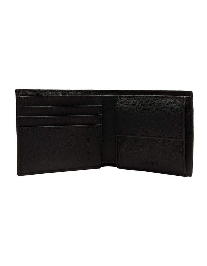 Mens Classic S Billfold Coin Black image 2