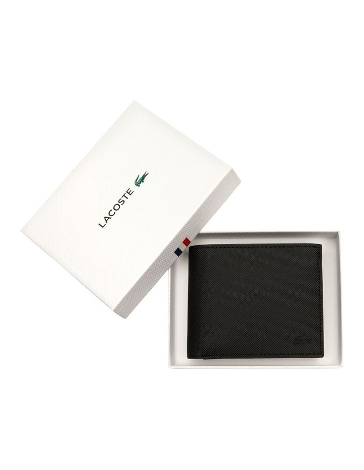 Mens Classic S Billfold Coin Black image 3
