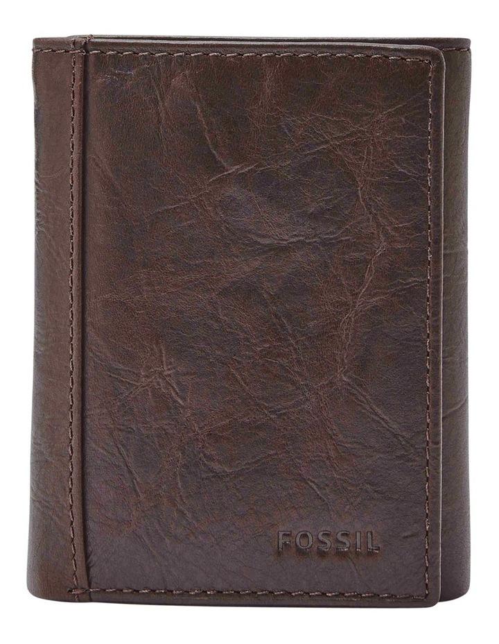 Neel Extra Capacity Brown Wallet image 1