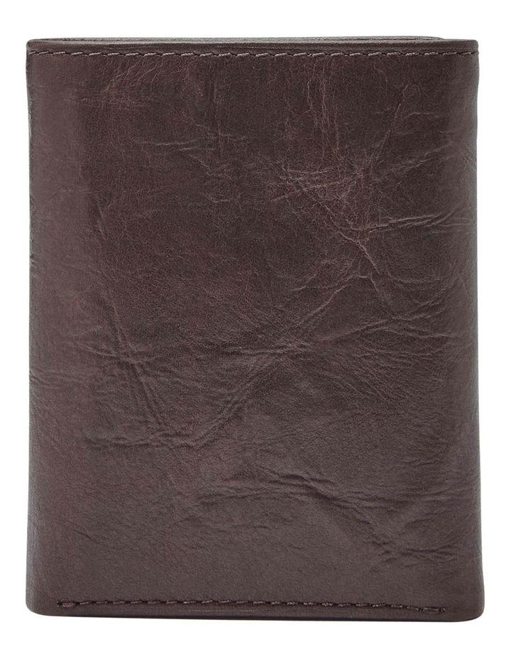 Neel Extra Capacity Brown Wallet image 2