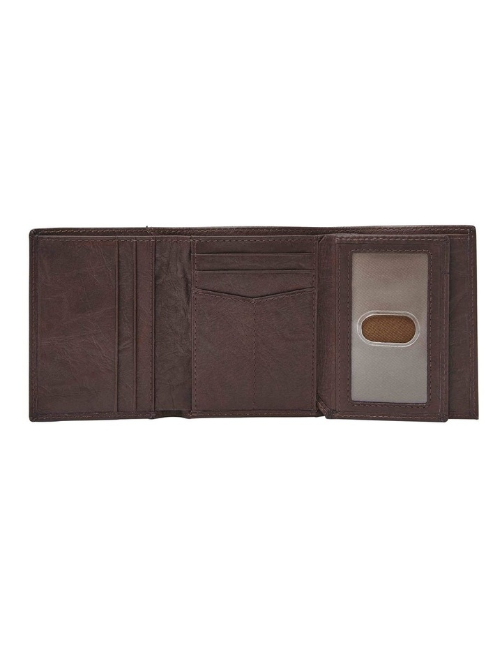 Neel Extra Capacity Brown Wallet image 3