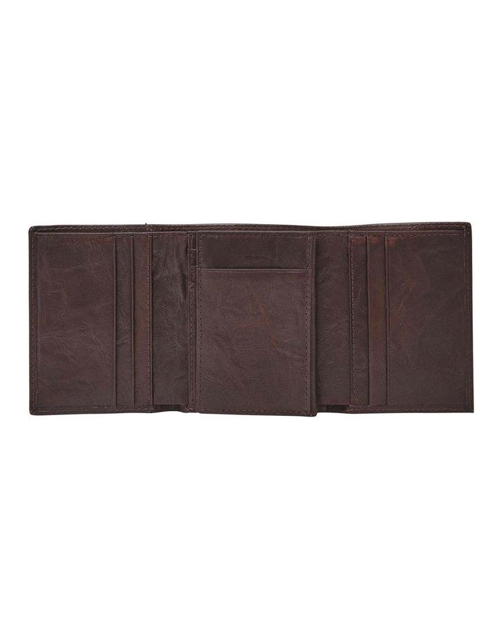 Neel Extra Capacity Brown Wallet image 4