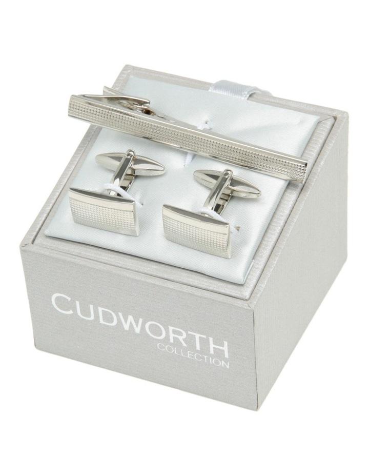 Cufflink and Tie Bar Set image 1