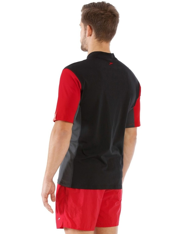 Motion Relaxed Short Sleeve Rash Top image 2