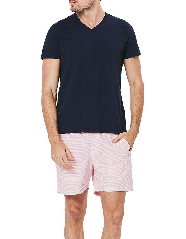Pink Stripe Weekender Swim Short image 1
