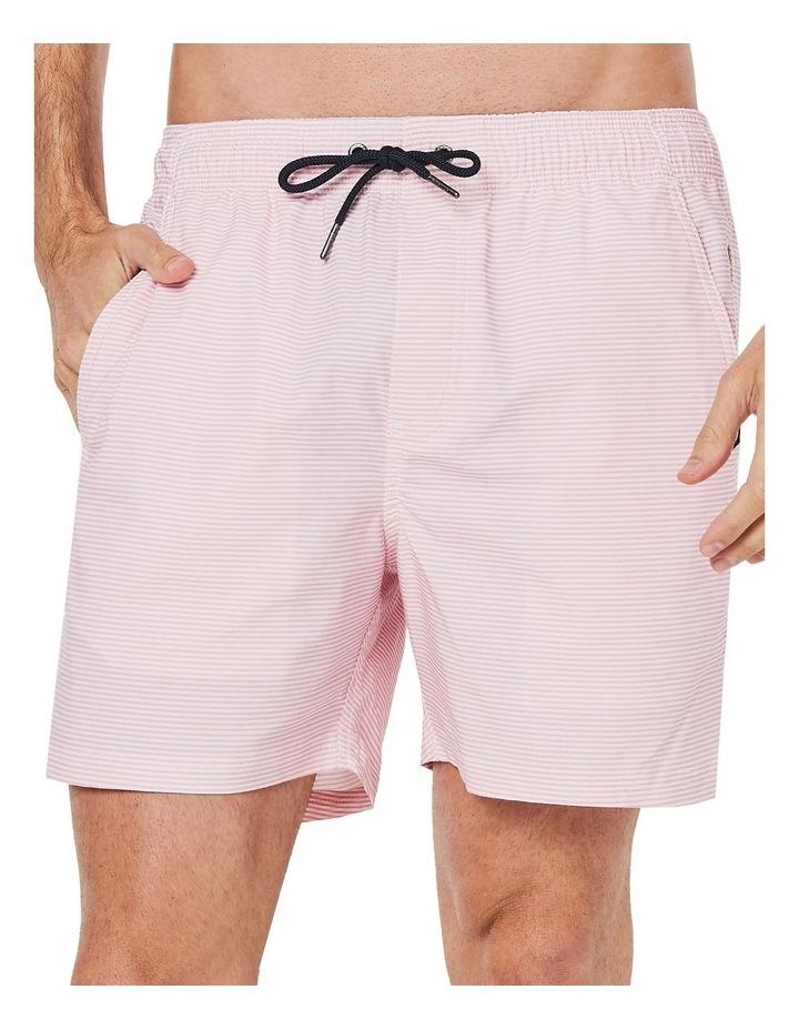 Pink Stripe Weekender Swim Short image 2
