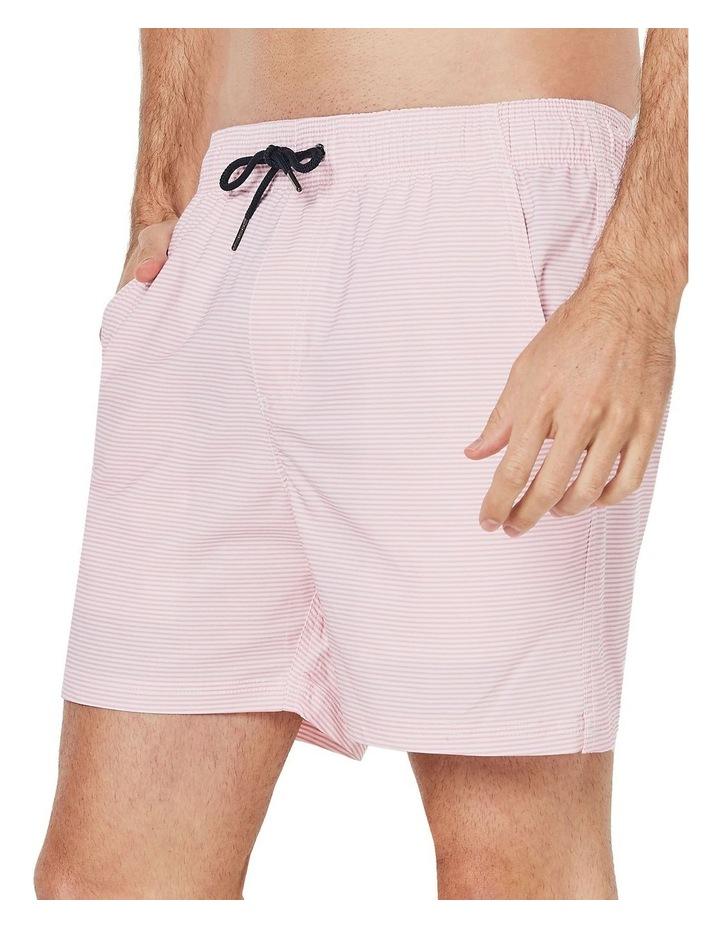 Pink Stripe Weekender Swim Short image 3