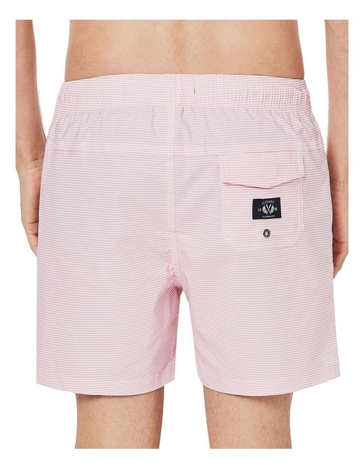 Pink Stripe Weekender Swim Short image 4
