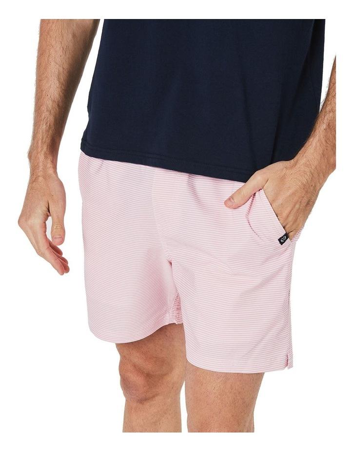 Pink Stripe Weekender Swim Short image 5