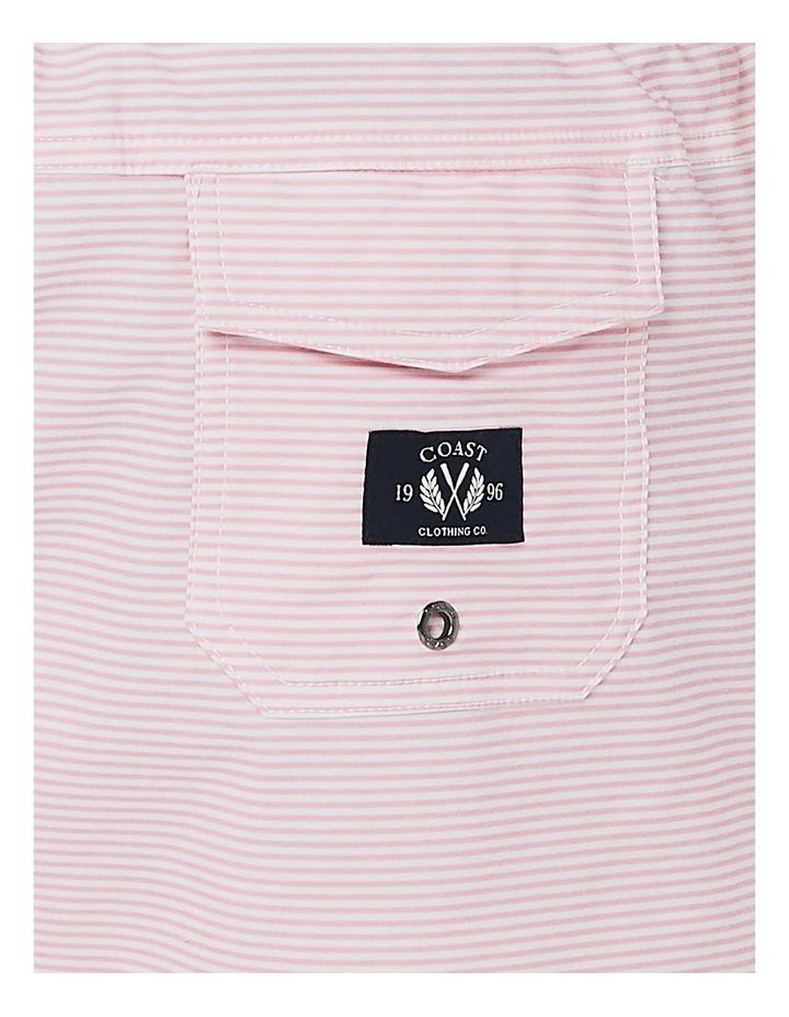 Pink Stripe Weekender Swim Short image 6