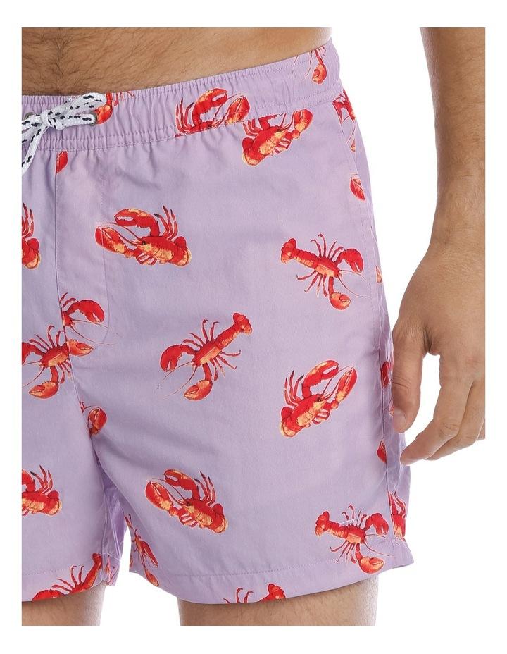 Lobster Print Boardie image 3