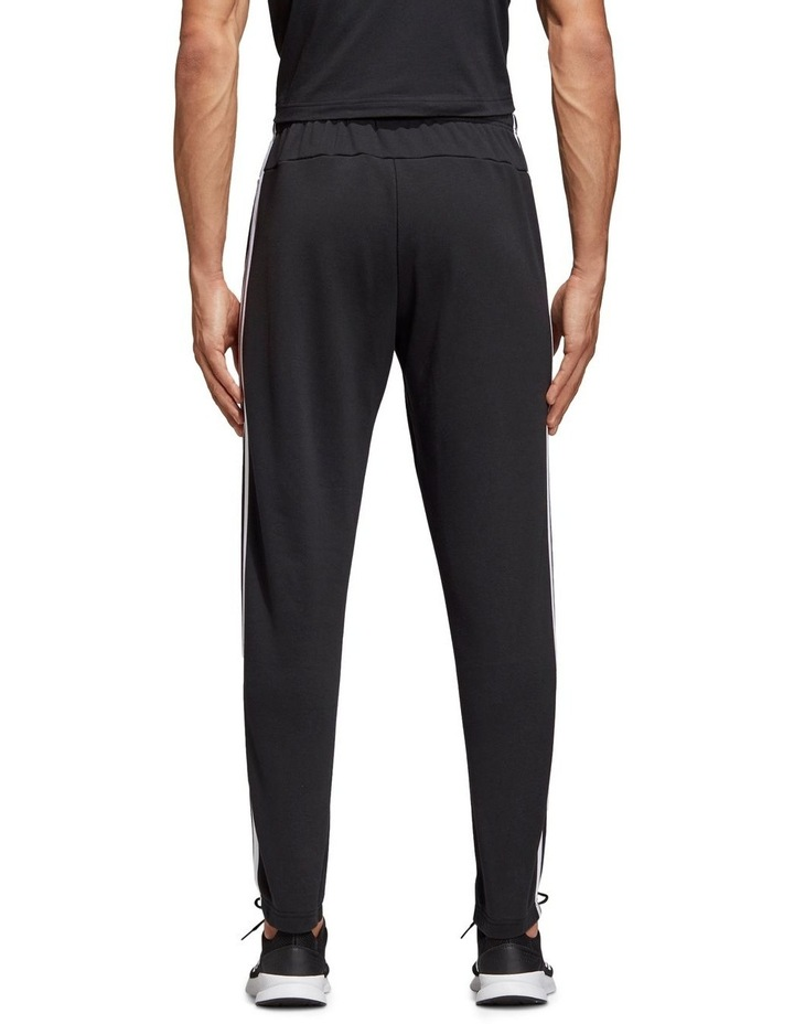 Adidas Essentials 3 Stripes Tapered French Terry Track Pants