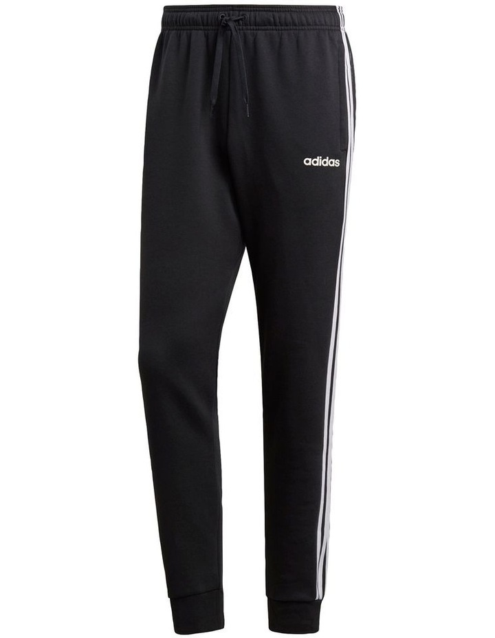 Essentials 3-Stripes Tapered Cuffed Pants image 1