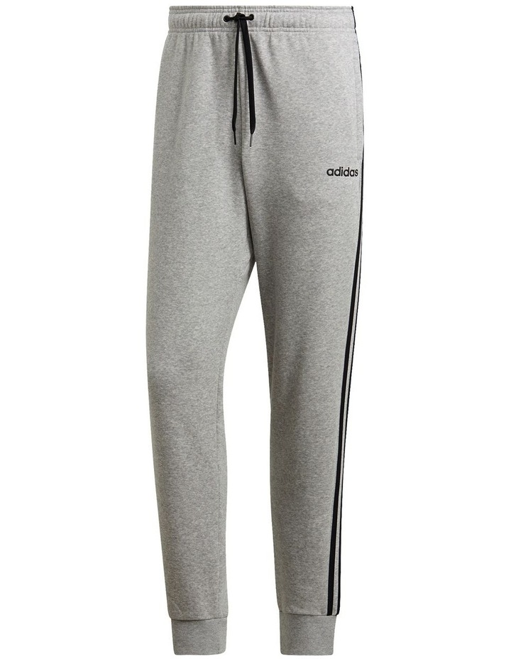 Essentials 3-Stripes Tapered Cuffed Pants image 2