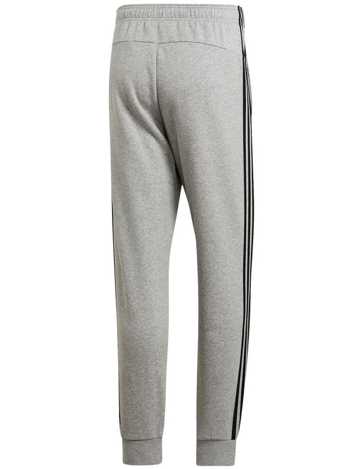 Essentials 3-Stripes Tapered Cuffed Pants image 3