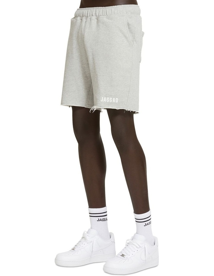 Core Grey Fleece Short image 2