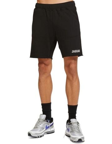 5417c3f04a6c Jaggad Core Black Fleece Short