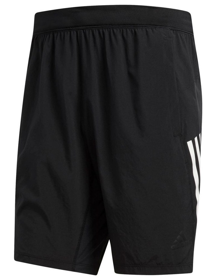 """8"""" 3 Stripe Work Out Short image 1"""