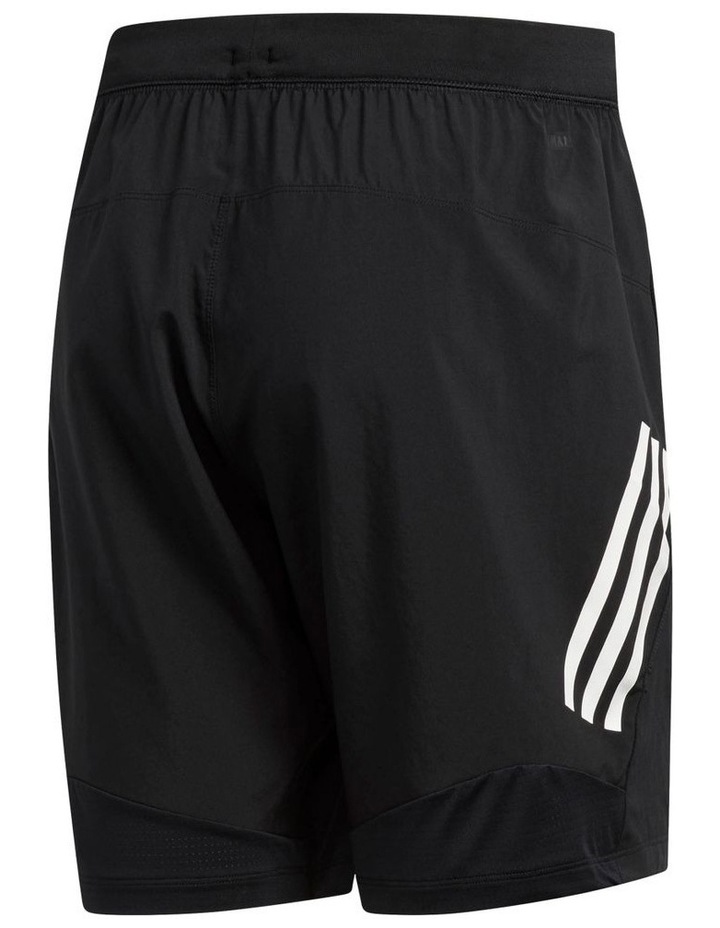 """8"""" 3 Stripe Work Out Short image 2"""