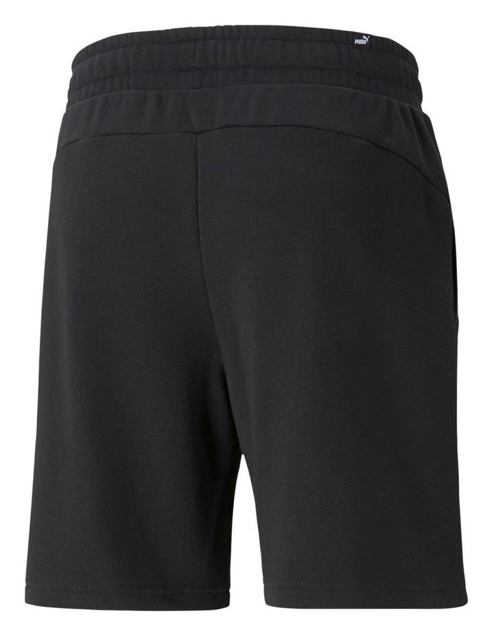 "Puma Power Logo Shorts 8"" Black image 2"