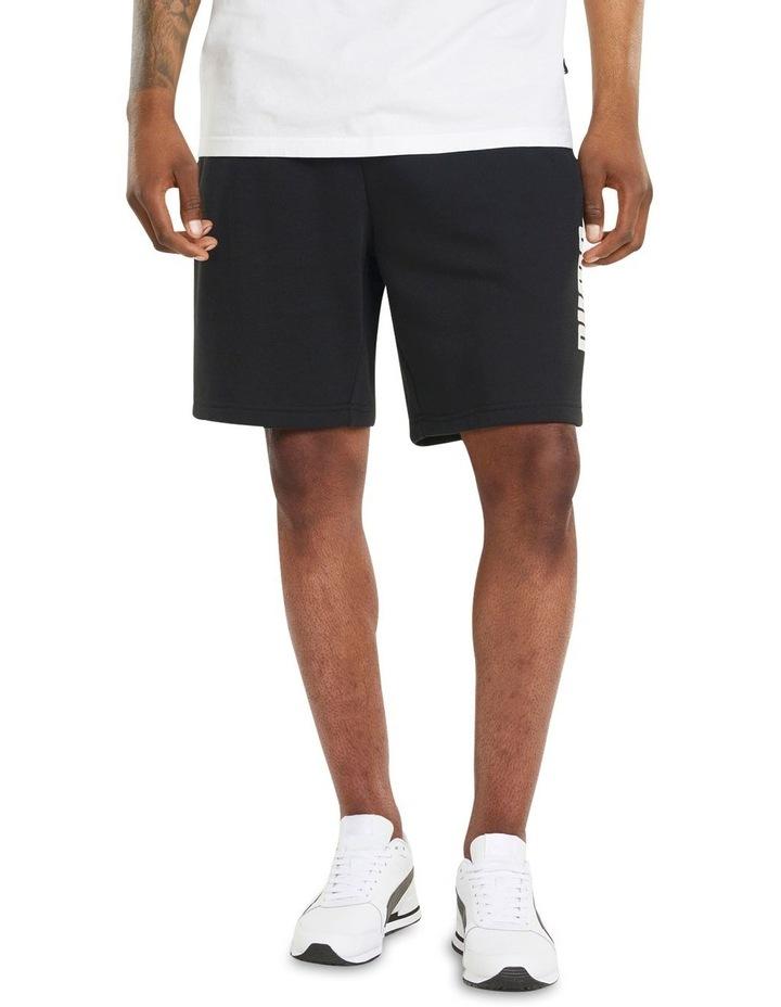"Puma Power Logo Shorts 8"" Black image 3"