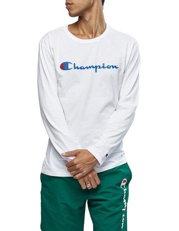 e07945ea5c1a Champion Script Long Sleeve Tee