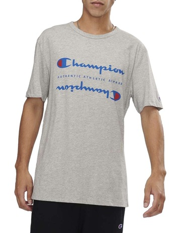 5d05b10e2678 Champion Sporty Double Logo Tee