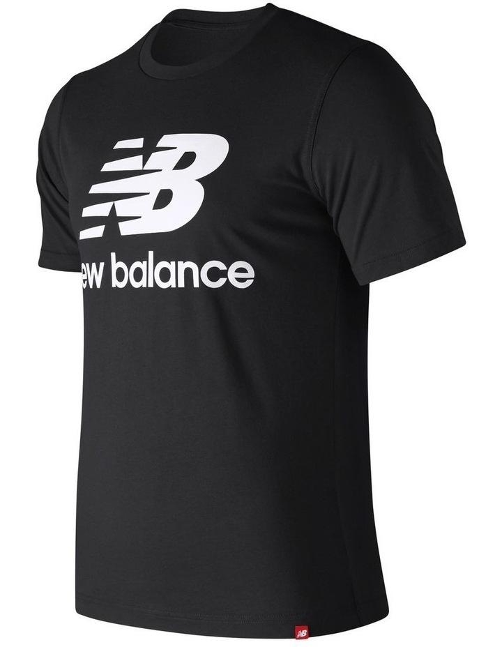 f8f2b213b52b1 New Balance | Essentials Stacked Logo Tee | MYER