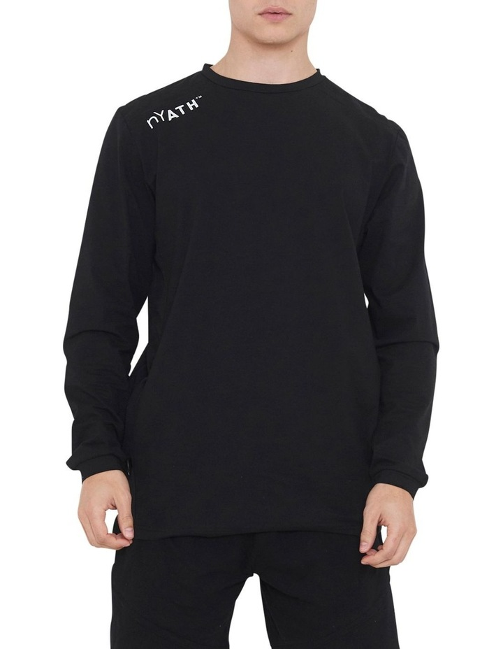 The Ath Long Sleeve Tee With Side Seam Panel image 1