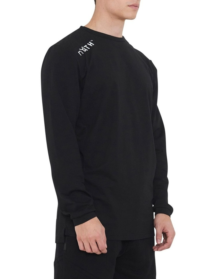 The Ath Long Sleeve Tee With Side Seam Panel image 2