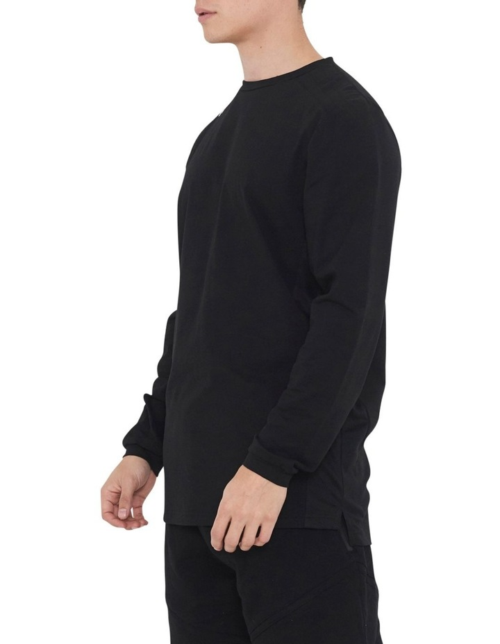 The Ath Long Sleeve Tee With Side Seam Panel image 3