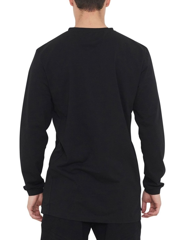 The Ath Long Sleeve Tee With Side Seam Panel image 4
