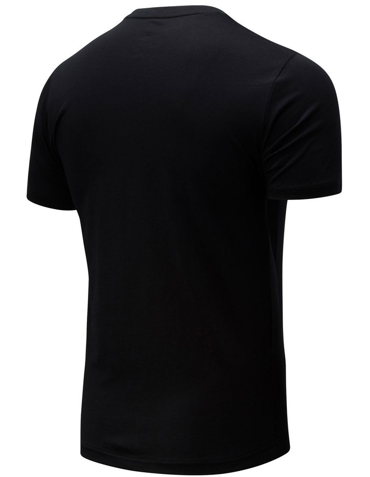 Essentials Stacked Logo Tee image 2