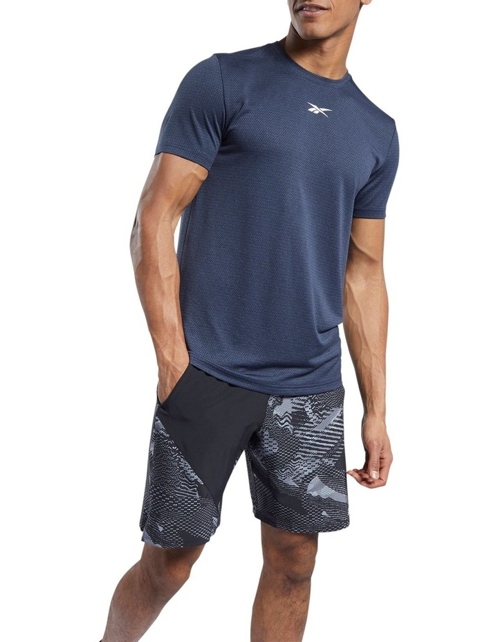 Work Out Ready Melange Tee image 1