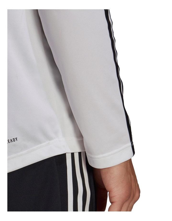 3 Stripe Long Sleeve Training Tee image 5