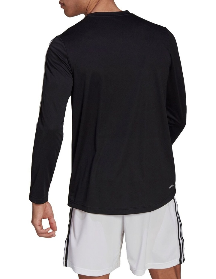 3 Stripe Long Sleeve Training Tee image 2