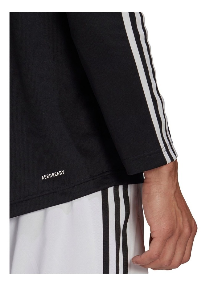 3 Stripe Long Sleeve Training Tee image 5