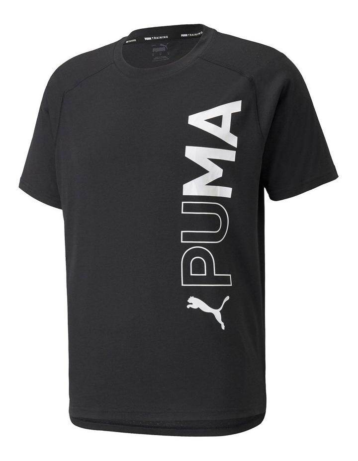 Train Puma Short Sleeve Tee Black image 1