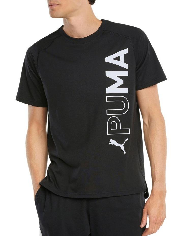 Train Puma Short Sleeve Tee Black image 3