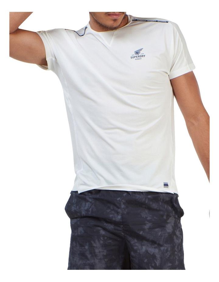 Run Short Sleeve Tee White image 1