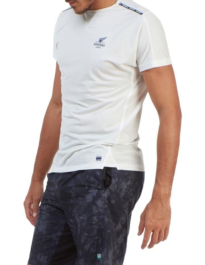 Run Short Sleeve Tee White image 3
