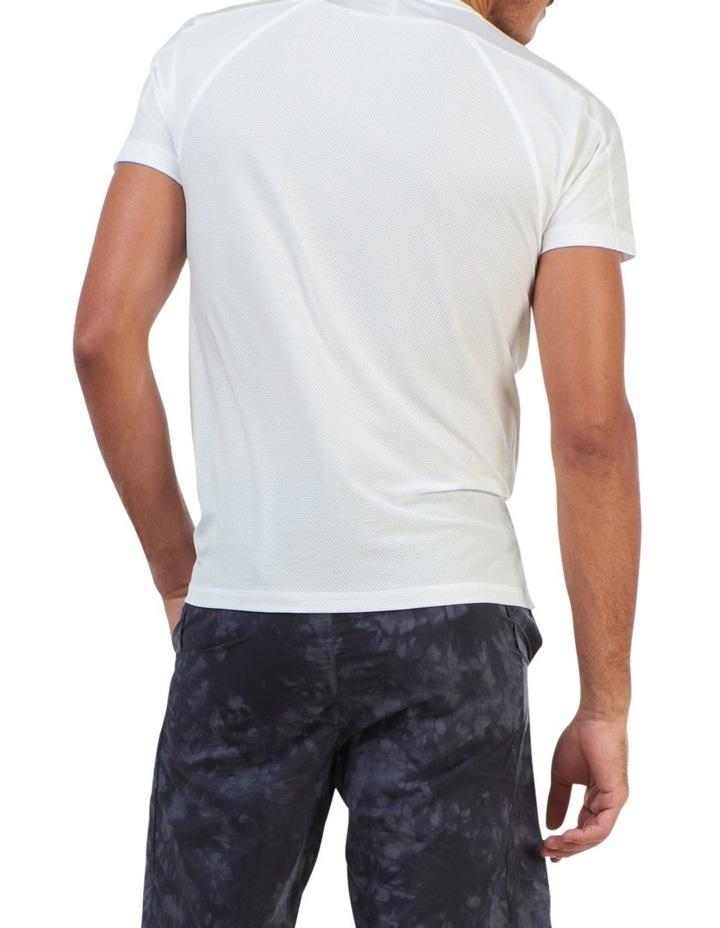 Run Short Sleeve Tee White image 4