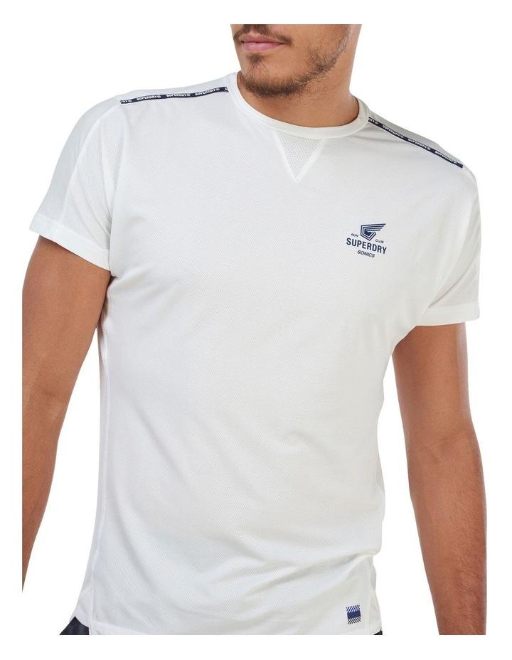 Run Short Sleeve Tee White image 5