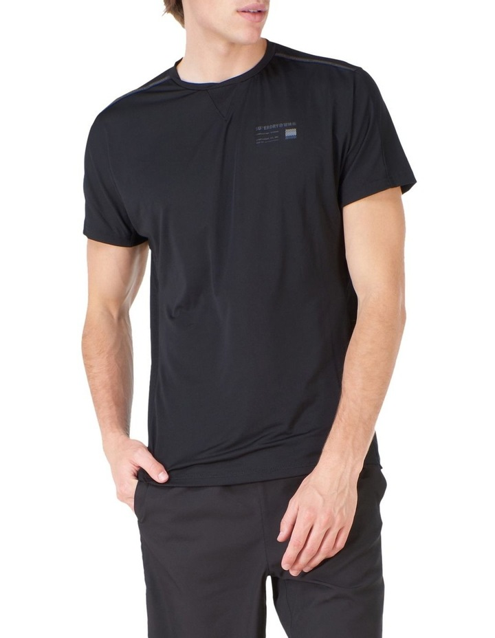 Run Short Sleeve Tee Black image 1