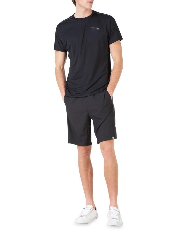Run Short Sleeve Tee Black image 2