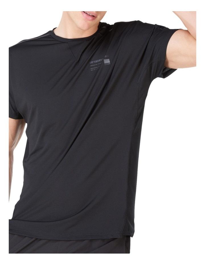 Run Short Sleeve Tee Black image 6