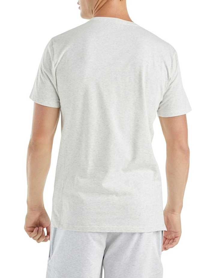 The Ath Tee White Marl image 3