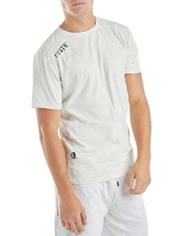 The Ath Tee White Marl image 4