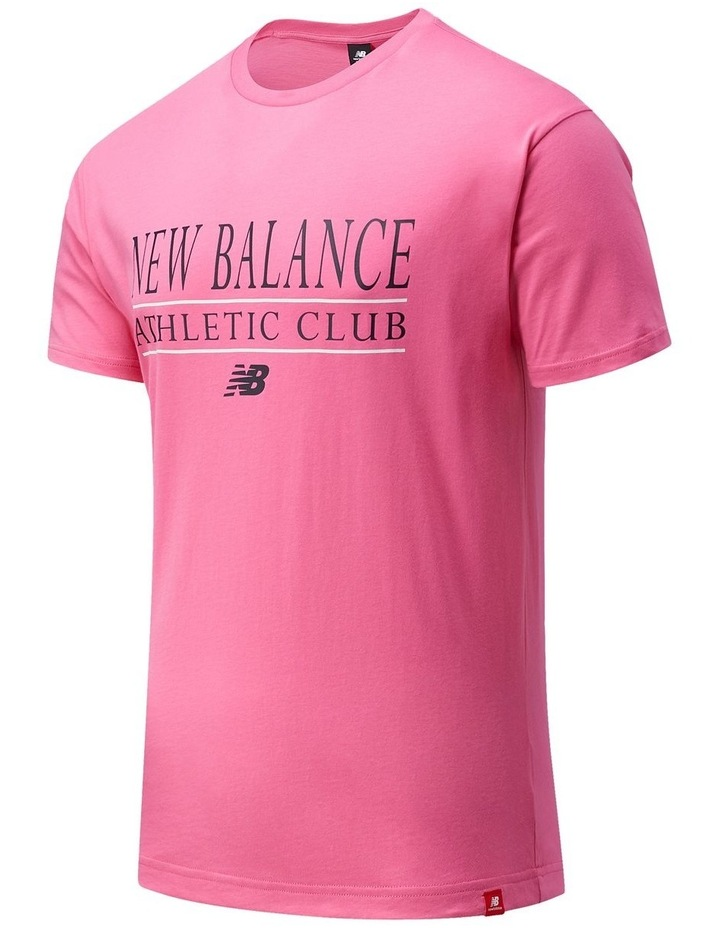 Essentials Athletic Club Tee Pink image 1