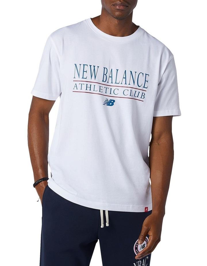 Essentials Athletic Club Tee White image 1